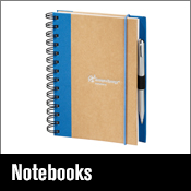 Promotional Items notebook, diary, organizer and agendas