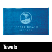 Promotional Items towels and golf towels