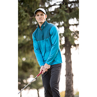 639883 Blouson dri-fit 1/2-zip NIKE