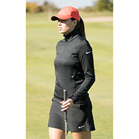 685282 Ladie's thermal ½ zip NIKE