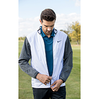 726401 Golf full zip shield jacket NIKE