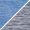 Bleu chiné / Gris pâle chiné